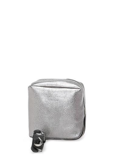 Proenza Schouler Clutch / El Çantası Gümüş